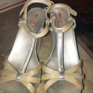 Sz39 Prada Wedges
